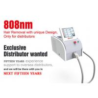 Cheap Vertical 808nm Diode Laser Hair Removal Machine With Germany Laser 3 - 40 J/Cm2 for sale