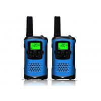 Cheap ABS Material Handheld Walkie Talkie Radios Easy To Use For Sports / Travel for sale