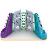 Cheap Light Weight Childrens Rock Climbing Wall For Amusement Park Easy To Install for sale