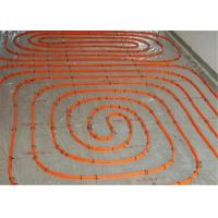 Cheap Flexible 20mm Underfloor Heating Pipe , Transparent White Pert Pipe For Hot Water for sale