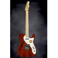 Cheap 6 Strings Squier Electric Guitar Classic Vibe Telecaster Thinline Natural for sale