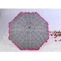 Cheap Aluminum Alloy Strong Windproof Folding Umbrella Ultra Light Lace Parasol Umbrella for sale