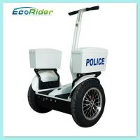 Cheap Two Wheel Electric Police Personal Transporter Scooter , Self Balancing Police Segway for sale