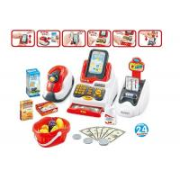Cheap Pretend Children's Play Toys Cash Register With Scanner And Credit Card Machine for sale