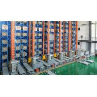 Cheap Customized Self Supported ASRS Racking System With Double Mast Crane Stacker for sale