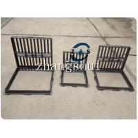 China hot sales 600x600, 500x500, 400x400, ductile iron gully grate, sewer gully grate on sale