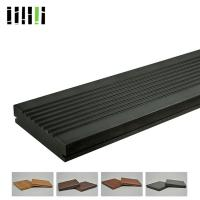 Fire Resistant Bamboo Deck Tiles , Solid Bamboo Panels Incredible Bending Strength