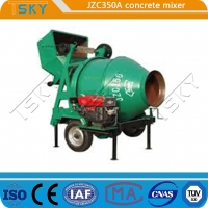 Cheap Bridges Project JZC 350A 14m3/H Industrial Concrete Mixer for sale
