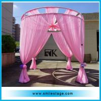 Cheap wedding mandap pipe and drape event decoration pipe and drapes kits for sale