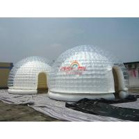 Cheap 5m Diameter Clear Airtight Inflatable Dome Tent for exibition for sale
