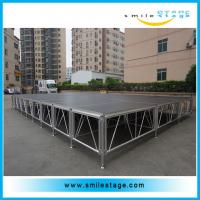 Cheap Easy assemble lightweight aluminum stage platform for exhibitions for sale