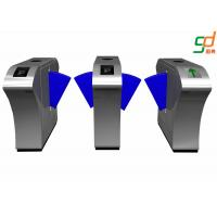 Buy cheap Subway Flap Barrier Gate RS 485 Intelligent Turnstile Gate System from wholesalers