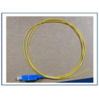 Buy cheap Convex Spherical End Fiber Optic Pigtail Simplex / Duplex Cord Type TW from wholesalers