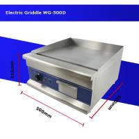 Quality CE Electric griddle Non stick electric griddle Electric flat top griddle WG500D wholesale