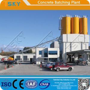Cheap Belt Conveyor Feeding Type HZS90 RMC Batching Plant for sale