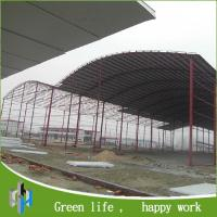 Cheap prefab shed steel frame prefabricated light steel structure shed for sale