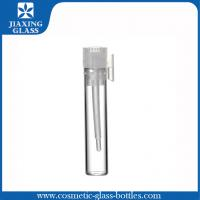 China 1ml 2ml 3ml Perfume Tester Tuber Glass Vials Samples With  Ziplock Bags And Funnel on sale