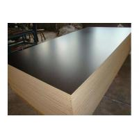China WBP glue film faced plywood / shuttering plywood panel / two times hot press plywood on sale