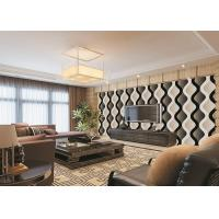 Cheap Curve Living Room Bedroom PVC Modern Removable Wallpaper For TV Background for sale