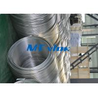 Buy cheap TP316 / 316L Stainless Steel Welded Super Long Coiled Tube For Petrochemical from wholesalers
