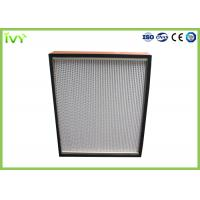 Cheap Disposable Terminal HEPA Air Filter Cleanroom Ceiling Mounted Easy Installed for sale