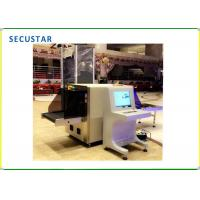 Cheap Airports Security Checking X Ray Baggage Scanner Machine 7 Color Images 40AWG for sale