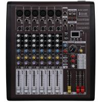 110v - 230v Portable Power Mixer , 6 Channel Dj Music Mixers With DSP I06