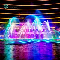 China Outdoor Floating Fountain Music Dancing Water Fountain Construction Computer Controlled Water Fountain In Lake on sale