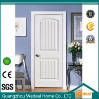Cheap Classical White Two Panel Interior Door With Door Lock And Hinge for sale