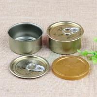 Cheap Durable Black Cap Easy Open Tin Cans For Cali Hemp Packaging Tin Box for sale