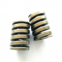 Cheap Flat Coiled Anodized Stainless Steel Die Springs for sale