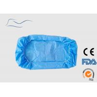 Cheap Surgical White Disposable Bed Covers Non Woven Material 110 * 220CM 30G for sale