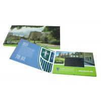 Cheap Customized China lcd video business cards, lcd video mailer for education for sale