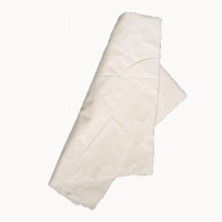 Cheap Recycled Bed Sheet White Cotton Rags 44*44cm For Paint Cleaning for sale