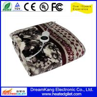 Cheap OEM 2014 Latest made in China polar fleece heated blanket for sale