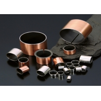 Cheap Copper Alloy Bronze Bearing Graphite Lubricating Oil Free Bushings Ra0.8 for sale