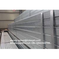 Cheap bs1387 Popular Hot Dip Galvanized Square Steel Tubes for sale