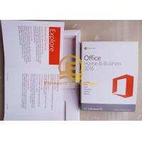 Microsoft Office Standard / Home and Bussiness 16 Full Version DVD / CD Media