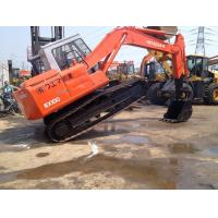 China 6 Cylinders 10 Ton Used Hitachi Excavator For Earth Moving EX100-1 on sale