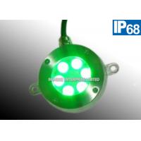 Cheap Color Changing 12V DC Green Underwater LED Pond Lights Energy Efficient for sale