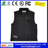 Cheap Battery - powered Heated jacket Black color for sale