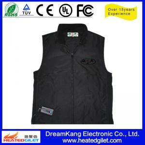 Cheap Far infrared Li-battery heating vest for sale