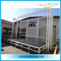 Cheap Easy Install 4*8 FT Aluminum Stages Platform for Weddings Staging for sale