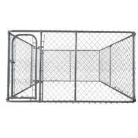 Cheap chain link dog kennel  4ft x 7.5ft x 7.5ft DIY dog fence chain mesh 60mm x 60mm for sale