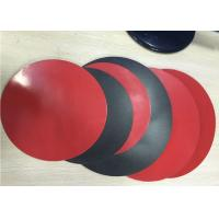 Cheap 1.8mm Thick 3003 Aluminum Circle Sheet Red Teflone Coating 250mm Corrosion Resistance for sale