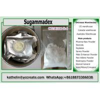 Cheap ISO GMP Listed Pharma Grade Local Anesthesia Drugs Sugammadex CAS 343306-71-8 for sale