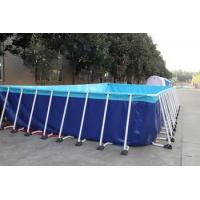 Buy cheap PVC tarpaulin coated fabric for fish pond/ inspection and quality control from wholesalers