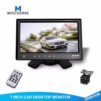 Cheap Adjustable Car Dash Monitor HD Rear View Camera And Car Multimedia System for sale