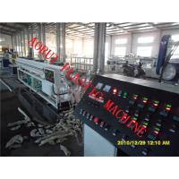 Drainage And Gas Pipe Plastic Extrusion Line , PP PE Extruder Machine