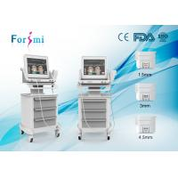 Cheap Hifu wrinkle removal and face lift machine with three cartridegs for sale